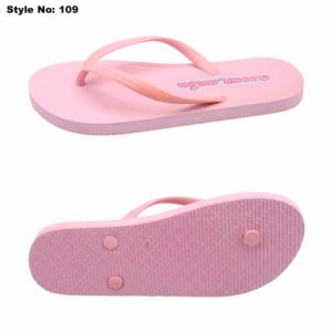 En caoutchouc/PE pantoufles Flip Flops Custom