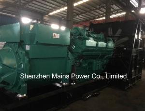 2500kVA générateur diesel Cummins QSK60-G8 Cummins Power Generation 2000kw en veille