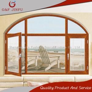 Двойные стекла на американском стиле дверная рама перемещена из алюминия окна