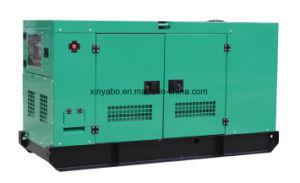 46kw Shangchai 디젤 엔진 발전기 세트 및 침묵하는