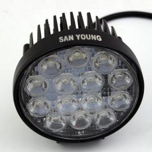 Lumière bon marché de travail des prix 42W DEL lumière fonctionnante de machine de forêt de 4 pouces