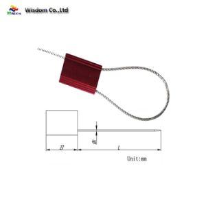 Joints de câble Tirer le verrou de blocage serrés facile d'alliage en aluminium de longueur fixe de haute sécurité Joints de fil en acier