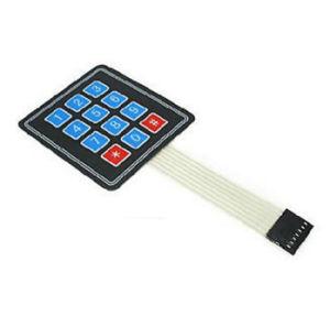 大きいボタン4*4のマトリックスキーボードマイクロコントローラー外部キーボード