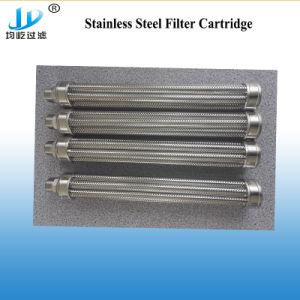 Cartuccia di filtro sinterizzata dall'acqua di PP/PE/PTFE con adattamento della fabbrica