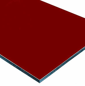 4mm PVDFのコーティングのアルミニウムCompositのパネル (ACP)