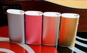 [Rey Master] batería oval 5200mAh de la carga 5 de la batería del paquete de potencia de la dimensión de una variable 2 batería de la potencia 13000mAh
