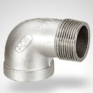 acciaio inossidabile di 150lb Bsp/NPT un gomito da 45 gradi