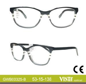 De Bril van de Frames van de Glazen van de Frames van het Oogglas van de Ontwerper van de manier (325-c)