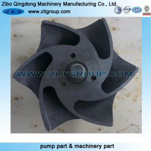 Le titane/acier inoxydable Durco Mark III Rotor de pompe à des remplacements de produits chimiques