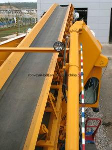 Transportador de cinta de goma y caucho Cinta de tela para la minería del carbón (4 ply)