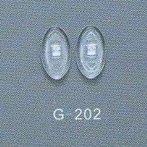 De Stootkussens van de Neus van het silicone voor Optische Frames, het Stootkussen van de Neus van Oogglazen