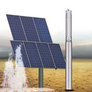 La energía solar sumergibles de pozo profundo bombas de agua bomba de alimentación de la agricultura