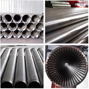 Pijp de van uitstekende kwaliteit van het Scherm van de Filter van de Draad van de Wig van het Roestvrij staal