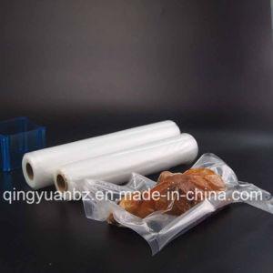 Transparente sellado al vacío de almacenamiento de alimentos de calidad alimentaria de la bolsa de embalaje