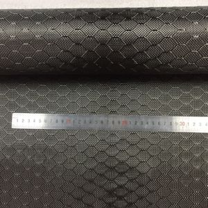 Mirada bonita forma de panal de avispas Hexagon 3K de tejido de fibra de carbono