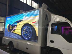 巡回興行のためにトラックを広告するIsuzu 3スクリーンLED