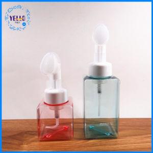 250ml 얼굴 청소 거품 병 장식용 포장 플라스틱 병