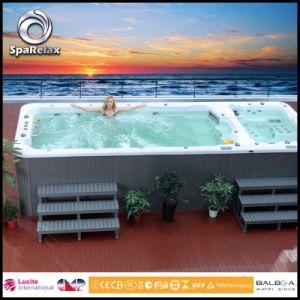 Acrylic extérieur Sport Swimming Pool SPA avec l'éclairage LED System (SRP-460) d'Amazing
