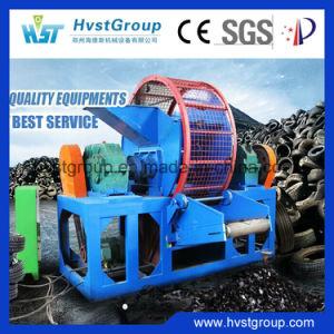中国の不用なタイヤのカッター機械