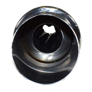 Kundenspezifisches Edelstahl-Abblasdämpfer-Endstück-Abgas-Rohr