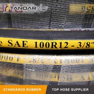 R12 de Kleurrijke Flexibele Slang van de Olie van de Druk SAE100 Hydraulische Rubber