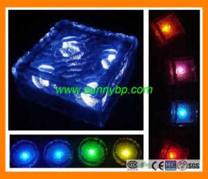 Licht des Solarweihnachtsrechteckiges Milchglas-LED