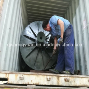 Linha de reciclagem de pneus e máquina de trituração de paletes de madeira