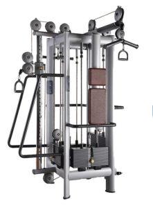 新しい2018のためのマルチ体操装置の強さ機械ケーブルのジャングルは着く