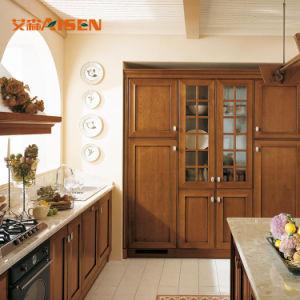 Armadi da cucina di legno di disegno del portello di Hangzhou 10years Manufacter