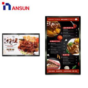 42-дюймовый дисплей цифровую рекламу для установки на стену ЖК-экран с WiFi Android