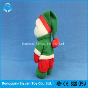 Regalo de navidad Osito de peluche juguete con sombrero y el libro de Navidad