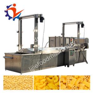 Les puces de bananes de l'industrie continue de la machine de cuisson friteuse machine de cuisson