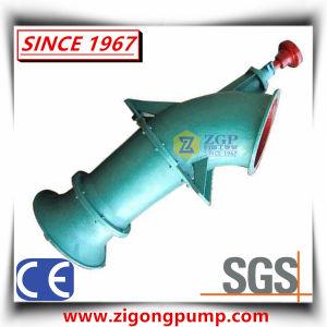 L'eau verticales en acier inoxydable chimique Axial Flow de la pompe d'hélice de coude