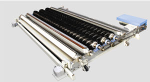 Magnetic automatico Flat Screen Printing Machine per Polyester Blanket