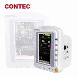 Chinesischer Krankenhaus-medizinische Ausrüstung Contec Cms6500 beweglicher Überwachungsgerät-lebenswichtiges Zeichen-Monitor-Patienten-ÜberwachungsgerätMulti-Parameter