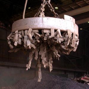 L'acciaio scarta l'elevatore elettromagnetico MW5-150L/1
