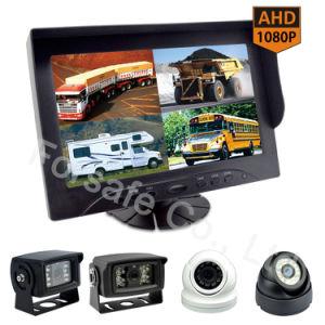 9  Veiligheidssysteem van de Camera van de Auto van de Monitor van de Mening van de Vierling van Ahd 1080P Rearview voor de Veiligheid van de Visie