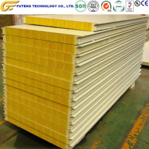 Acero de color Polyurethane-Filled panel sándwich de materiales de construcción