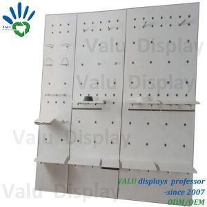 Metallwand-Bildschirmanzeige-Zahnstange, Slatwall, Wand-Gerät, Latte-Wand-Gerät mit Regalen für Einzelhandelsgeschäft