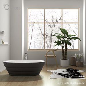 2018新しい現代衛生製品は厚い端の石の樹脂のアクリルの支えがない浴槽を保存する浅瀬を設計する