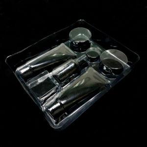 Cassetto su ordinazione della bolla del PVC per il cassetto di plastica cosmetico della bolla dell'insieme di prodotti