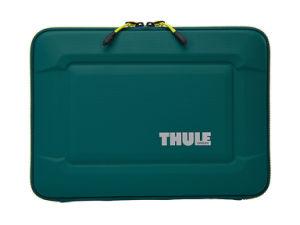 고품질 녹색 PU 가죽을%s 가진 단단한 쉘 휴대용 퍼스널 컴퓨터 상자