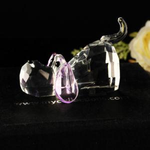 Regalos de cristal, cristal animales perro Adorable decoración Figurine