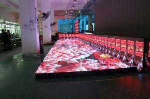 Schermo di visualizzazione del LED del pavimento per lo schermo dell'affitto di Dance Floor