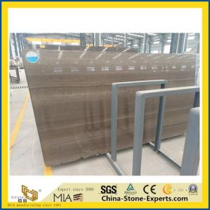 Lastra di legno grigia del marmo del grano della Cina per la pavimentazione/controsoffitto in azione