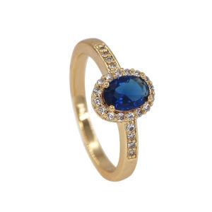 Fashion 925 Steling Bijoux en argent doigt CZ Bague, bague de mariage (R7422)