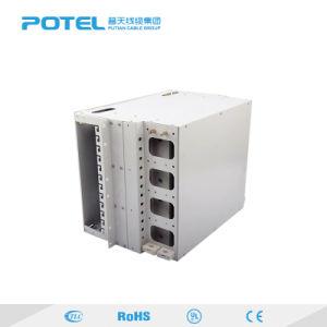 La alta calidad tipo cajón 24 núcleos de montaje en rack 19' de terminales de fibra óptica FTTH SC ODF