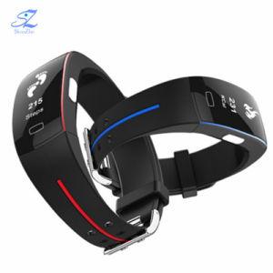 P3 Smart Band Support ECG+PPG Blood Pressure Heart Rate Monitoring IP67는 Pedometer Sports Fitness Bracelet를 방수 처리한다