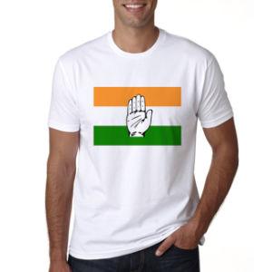 Fördernde Mens Wholesale unbelegte Stück-Hemd-normale weiße Shirt-Wahl-T-Shirts