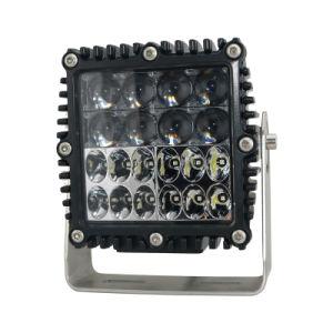 Heavy Duty LED cuadrada de 60W de iluminación de trabajo del vehículo